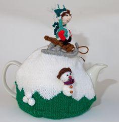Snow day! tea cosy £30.00 CherryBee