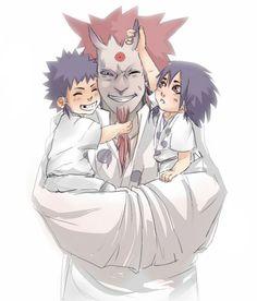 Naruto - Indra Otsutsuki & Ashura Otsutsuki + Hagoromo Otsutsuki