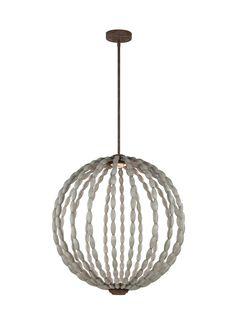 Dutra 2 Light Globe Pendant