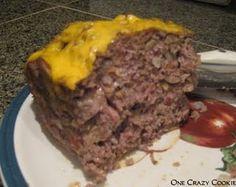 One Crazy Cookie: Tried & True: Bacon Swiss & Mushroom Meatloaf