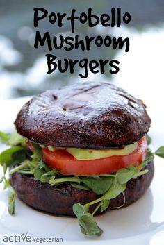 The China Study: Quick & Easy Cookbook – Recipe & Review www.activevegetarian.com #vegan #glutenfree #burger
