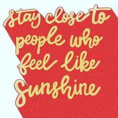 feel like sunshine