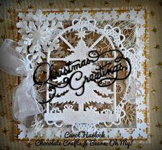 CottageBLOG: CottageCutz Shabby Chic Christmas Cards