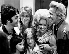 I sure hope Paul and Linda McCartney's kids appreciated that they were in the presence of greatness. After all, it's not every day you meet Dolly Parton and Porter Wagoner.