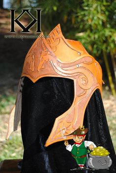 Celtic dragon helm by Kloor-a-Kawn