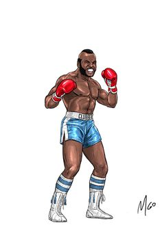 Rocky Series Characters illustrated by MGO 08 Rocky Series, Rocky Film, Rocky 3, Rocky Balboa 1, Andre Luis, Apollo Creed, Silvester Stallone, Karate Kid, The Way I Feel