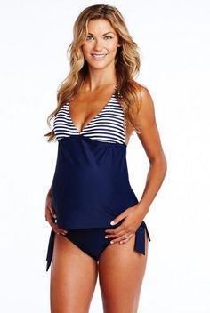 Bikinis para embarazadas o para disimular barriga|Tankinis