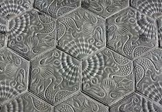 Barcelona pavement tiles