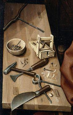 Робер Кампен, 1378 —1444. Считается, что он родился и умер в том же городе, Турне (в настоящее время Бельгия). Его называют первым великим мастером фламандской живописи – он с братьями Ван Эйк, основатели фламандской школы Pre.