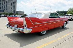 1958 Plymouth Belvedere Convertible (7 of 8) by myoldpostcards, via Flickr