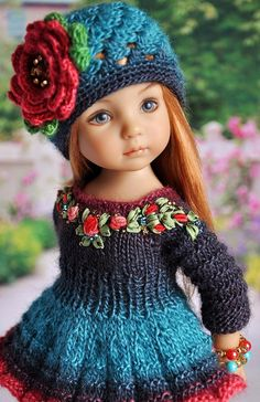 Fine Porcelain China Diane Japan Value Refferal: 2471754693 Pretty Dolls, Cute Dolls, Beautiful Dolls, Diy Embroidery Patterns, Kurti Embroidery Design, American Girl Crochet, Pretty Little Girls, American Doll Clothes, Knitted Dolls