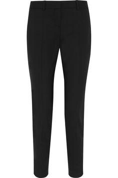 Theory Testra wool-blend straight-leg pants NET-A-PORTER.COM