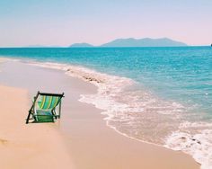 All you need is the beach....and a beach chair