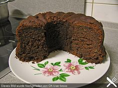 Schokoladen - Rum - Kuchen vom Blech