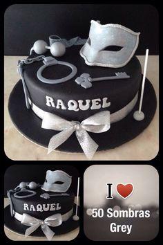 Bolo cake Mr. Grey 50 sombras