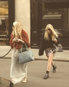 The Olsen twins can pretty much do no wrong as far as I'm concerned. <3 love.