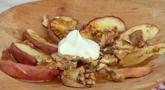 Recept: Ľahký dezert z jabĺk   Nebíčko v papuľke Camembert Cheese, Pork, Dairy, Meat, Fitness, Kale Stir Fry, Pork Chops