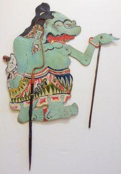 Indonesian Shadow Puppet | Chairish