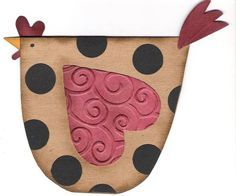 Oh Dear, I PUNCHED OUT a Chicken!!! by mitchygitchygoomy - Cards and Paper Crafts at Splitcoaststampers: has dir for objects