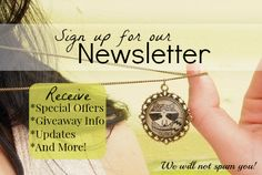 Sign up for Eternal Girl's newsletter HERE: http://eepurl.com/baWZG9  Get special offers, updates, giveaway info, and more!  (The newsletter will generally be sent out once a month or less. No spam!)
