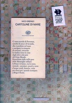 Nico Orengo, Cartoline di mare, Einaudi -Collezione di poesia 186; Torino 1984; introduzione di Maria Corti; 1. ed.; [impostazione grafica di copertina: Bruno Munari?], Buono stato. 24€    (FNPAPERSHOP and VADIeLOFO LIVE, l'11 maggio 2012, dalle 20, in via Baretti 31, a Torino)      logo: Christel Martinod. background: Valentina Moccia