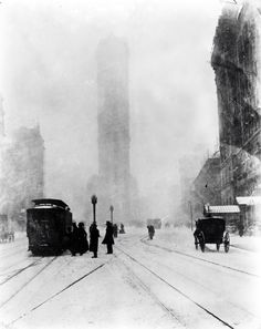 Jessie Tarbox Beals - Fifth Avenue at 25th Street, 1905.  ☀ time squar, tarbox beal, circa 1905, times square, museum, new york city, jessi tarbox, citi, the city