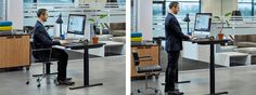 LINAK DPG desk panels - A new way to adjust your office desk