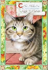 """Résultat de recherche d'images pour """"debby faulkner-stevens paintings cat"""""""