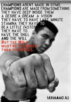 Motivational Muhammad Ali Quotes About Living Like a Champion! These quotes by Muhammad Ali about life will inspire you to live with greatness and love! Great Quotes, Quotes To Live By, Me Quotes, Motivational Quotes, Inspirational Quotes, The Words, Citation Mohamed Ali, Photographie Leica, Citations Sport