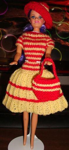 Ladyfingers - Barbie QUICKIE Dress Pattern