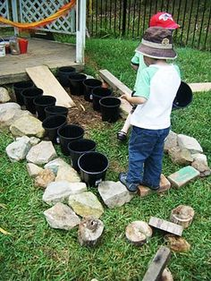 let the children play: celebrating loose parts in the preschool playground – natural playground ideas