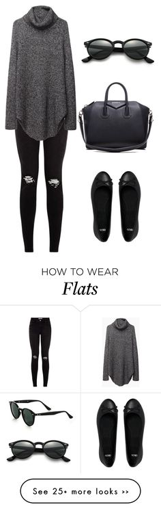"""Grey & Black."" by leengardini on Polyvore"