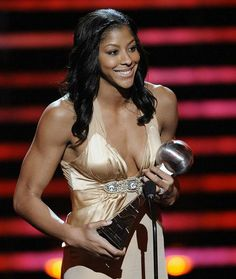 Pro Basketball Player Candace Parker.
