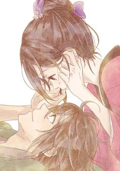 Ach...it seems so familiar to me ♥ The best picture of anime couple on the pinterest! :)