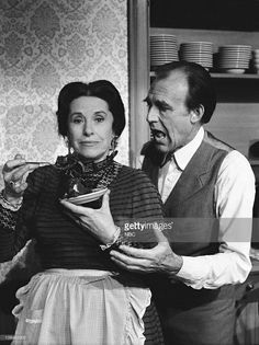 PRAIRIE 'Oleson vs Oleson' Episode 12 Aired Pictured Katherine MacGregor as Harriet Oleson Richard Bull as Nels Oleson Laura Ingalls Wilder, Ingalls Family, 80 Tv Shows, Prairie House, Michael Landon, Fact Families, Karen, Tv Guide, Old Tv