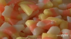 DIY candy corn. I could have used this last week when the store was out!