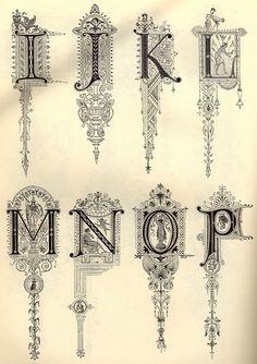 Decorative Alphabet | Adam Schwarcz | Flickr
