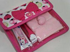 Resultado de imagen para kit higiene em tecido passo a passo