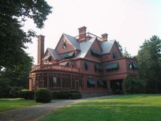 Glenmont. Thomas Edison's home in Llewellyn Park, West Orange NJ. Had an after-hours tour once. There's a tiger maple four-post bed in the ATTIC! In the friggin' attic. Yeah, yeah...all kinds of rich dude stuff in every room. But if I could sneak one thing out...