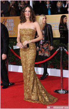 Jennifer Garner, Oscar de la Renta (Emily Shaffer)