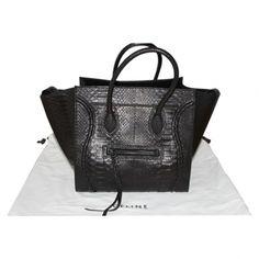 Celine phantom luggage python