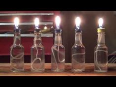 The Witch of Stitches: Making Oil Lamps