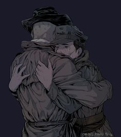 Nick and Mcready // Nick is such a sweetheart. Both him and MacCready deserve the world, the precious cinnamon rolls. Maccready Fallout, Fallout Posters, Fallout New Vegas, Fallout 4 Nick Valentine, Fallout 4 Companions, Scrolls Game, Geek Things, Art Things, Elder Scrolls