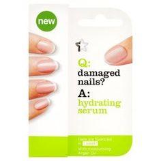 Superdrug Damaged Nails hydrating serum treatment