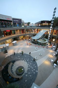Santa Monica Place.  Awesome!  Shopping was amazing