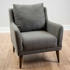 Layla Stone Speckle Armchair | Kirklands Living Room Chairs, Living Room Furniture, Brown Armchair, Slipper Chairs, Family Room Design, Cozy Corner, Bedroom Chair, Accent Chairs, Arm Chairs