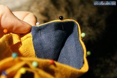 An awesome tutorial for how to assemble an embroidered pouch - this lady's work is beautiful.