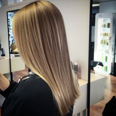 Balayaged long bronde hair - pitkät monisävy hiukset #bronde #balayage #babylights