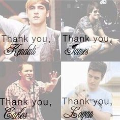 Thank you, Big Time Rush for being the most amazing, cute guys ever!