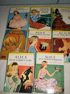 """collection """"Alice"""".. de la Bibliothèque Verte Des soirées merveilleuses :-)"""